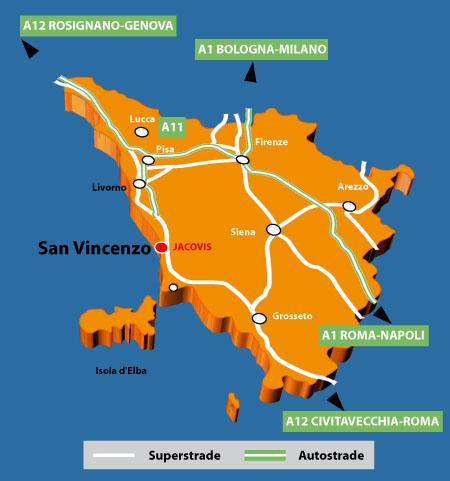 Appartamenti San Vincenzo Toscana
